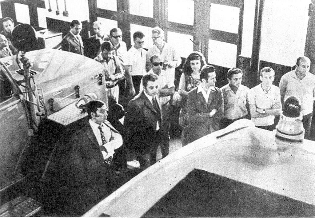 Fővárosi képviselők látogatása 1973-ban