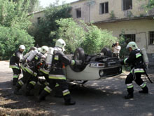 Tűzoltó szakmai verseny Bp. 2002