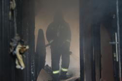 A tűz körülhatárolva
